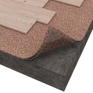 the cork and recycled eva used in the solution is and provides reliable protection for the flooring against damage